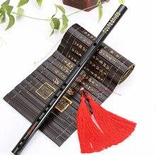 Alta qualidade chinês tradicional instrumentos musicais de bambu dizi flauta para iniciante c d e f g chave flauta transversal