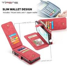กระเป๋าสตางค์หนังซิปสำหรับ Samsung Galaxy A52 A72หมายเหตุ20 10 9 8 S21 S20 S10E S9 S8 Ultra plus S7 Edge การ์ดแม่เหล็ก