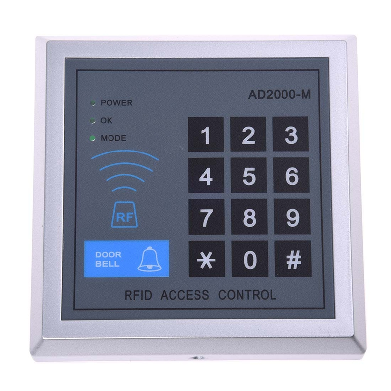RFID Access Control Door Access Entry Control Lock + 10 Key Fobs
