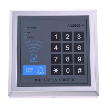 RFID Control de Acceso puerta de acceso cerradura de Control de entrada + 10 llaveros Fobs|Kits de control de acceso|   -
