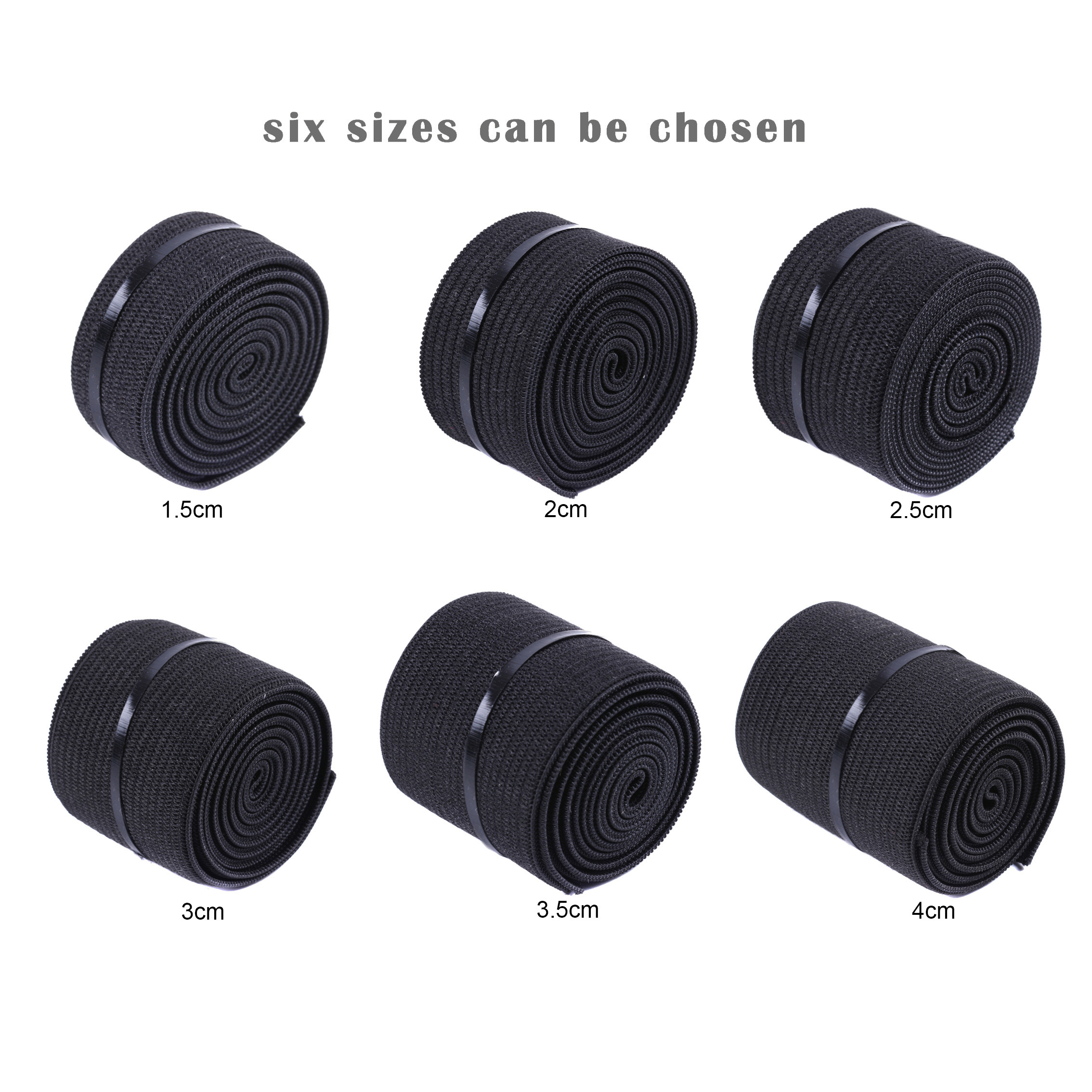 Wig Elastic Band 15 25 35 40Mm Wig Band For Hairnet Adjustable Elastic Band For Wig Cap
