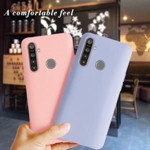 Realme 3 Pro Fall Für Realme C3 Telefon Abdeckung Candy TPU Silicon Weiche Matte Fall für OPPO Realme Narzo 10 3Pro C3 Zurück Abdeckung Stoßstange