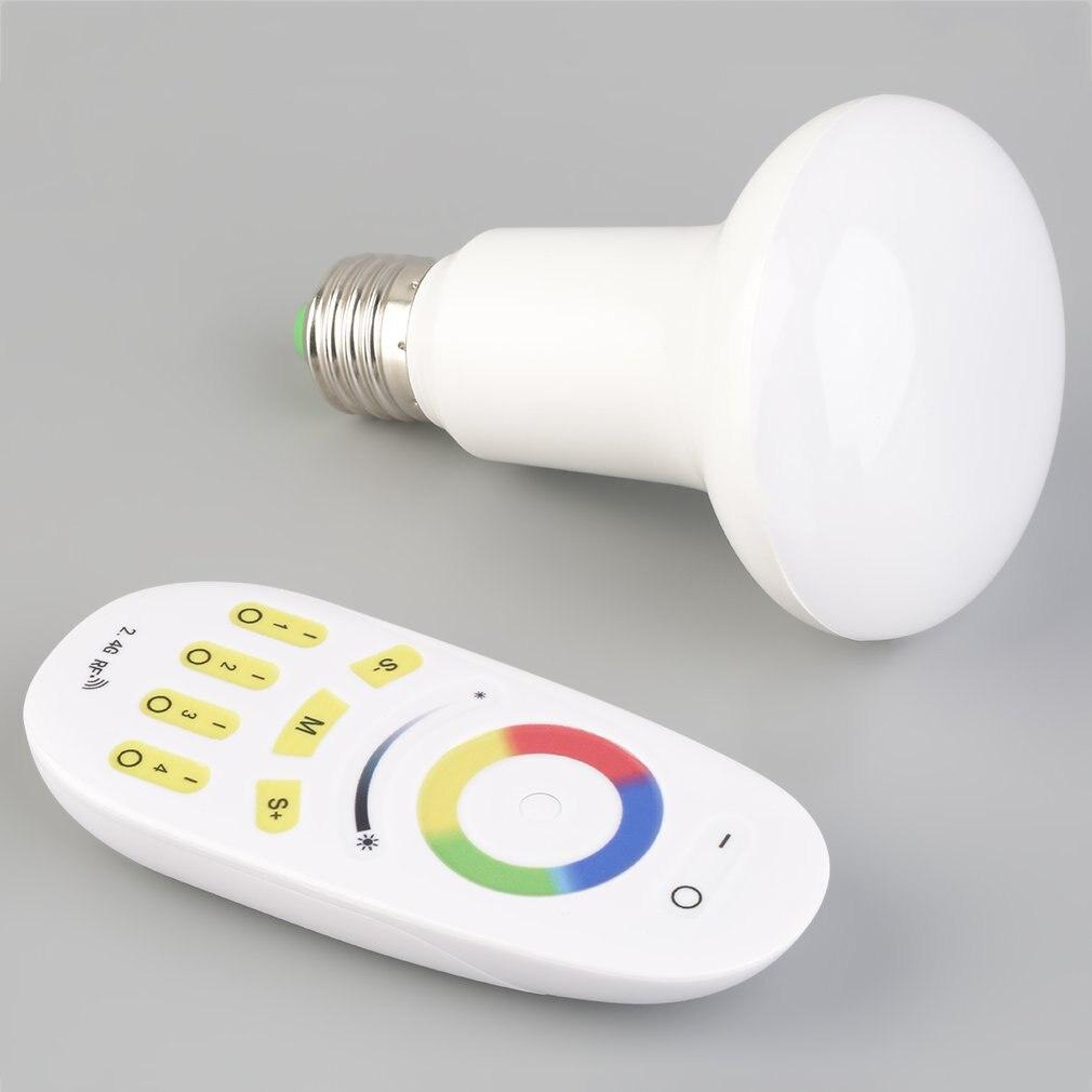 E27 2.4G Milight Wifi בקר RGBW מרחוק 6W 9W PAR30 LED הנורה RGBW מנורת באיכות גבוהה מכירה לוהטת פלאש להתמודד סיטונאי