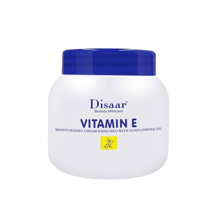 Vitamin E Anti Wrinkle Face Cream Lifting Firming Whitening Moisturizing Skin Care Repair Damaged Skin Facial Cream 200ml