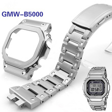 Watchband Bezel Metal-Strap Steel GMW-B5000 316l-Stainless-Steel High-Quality for Bracelet