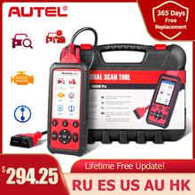 Autel MaxiDiag MD808Pro Diagnostic Tool, MD808 Pro Obd2 Scanner Engine Transmission SRS ABS EPB Oil Reset DPF SAS BMS (VS MK808)
