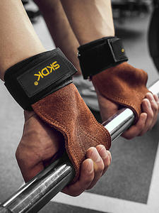SKDK Lifting-Grip-Pads Gym-Gloves-Grips Fitness-Gloves Palm-Protection Deadlifts Anti-Skid-Weight