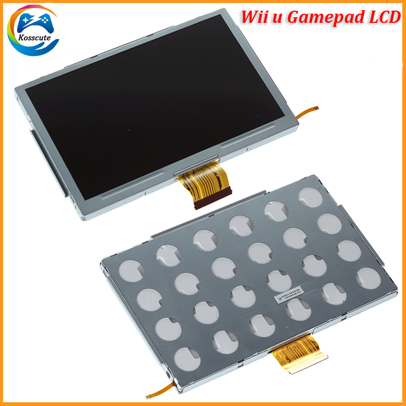 100% New Compatible For Wii U For WiiU LCD Screen Display Replacement For WIIU WII U Gamepad LCD Alssembly
