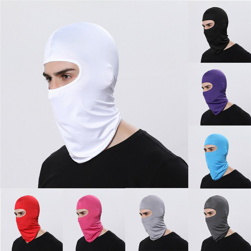Full Face Mask Balaclava Ski Neck Summer Sun Ultra UV Protection Windproof Scarf Motorcycle Cycling Ski Neck Protect