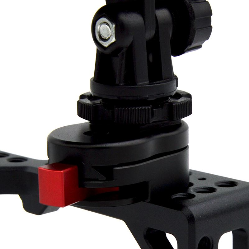 Полевой монитор БЫСТРОРАЗЪЕМНАЯ пластина для ЖК-монитора Magic Arm светодиодный светильник для камеры видеокамеры с 1/4 дюймовым винтовым отверстием