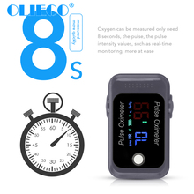Portable Bluetooth Finger Pulse Oximeter with Case Household APP Blood Oxygen Saturation Meter Medical SPO2 PR Oximeter