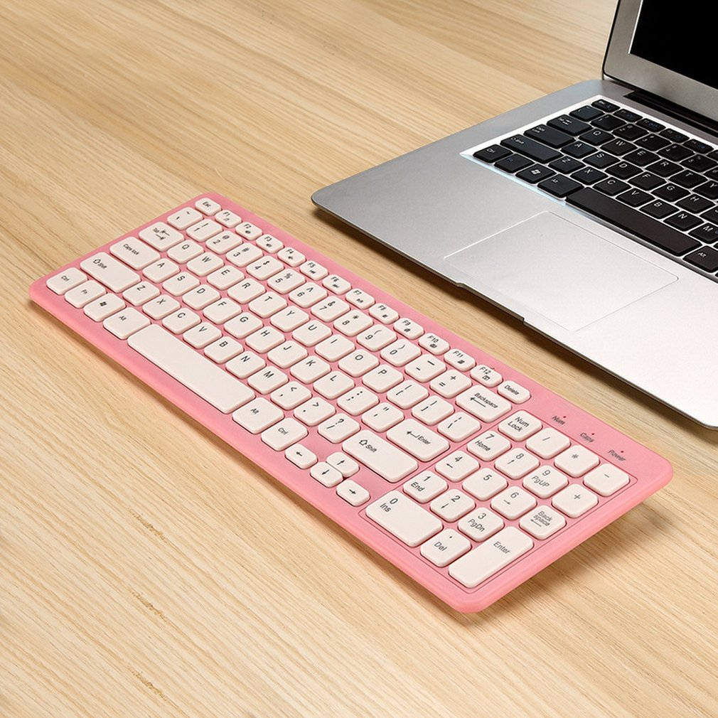 Mini Wireless Keyboard Multifunctional Computer Table PC Hand-held Portable Keyboard Touchpad Keyboard