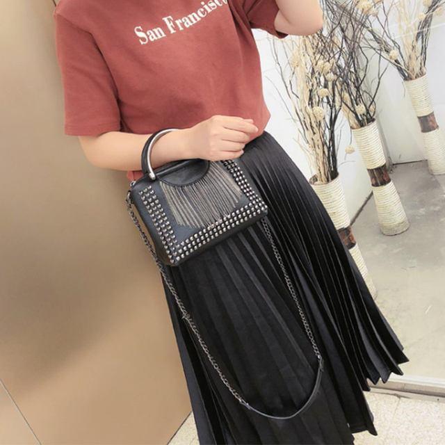 Women Tassel Shoulder Handbags Crossbody Bags For Women