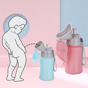 Portable Convenient Travel Cute Baby Urinal Kids Potty Girl Boy Car Toilet Potties Vehicular Urinal Traveling urination New