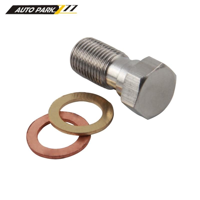 Mangueira de óleo de freio hidráulico para moto an3, conexão banjo m10x1 em aço inoxidável 10mm-4