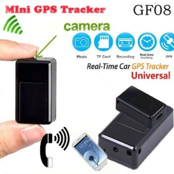 GF07/GF08 Mini GPS Tracker Real-Time GSM/GPRS Car Vehicle Tracking Locator SIM Camera SPY Magnetic Listening Monitor Device image
