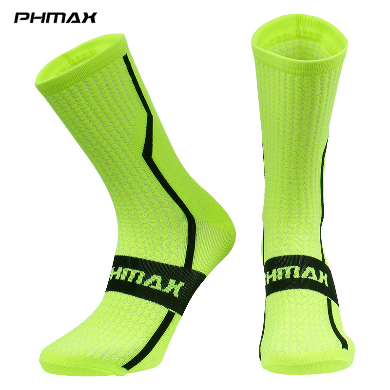 PHMAX 7 Colors Unisex Cycling Socks Summer MTB Bicycle Socks Professional Outdoor Sports Racing Mountain Bike Cycling Socks