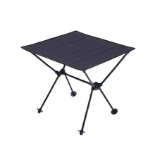 Camping Portable Aluminum Alloy Folding mesa abatible 600D Oxford Cloth Ultra Light Durable Garden Tables Outdoor Picnic Table