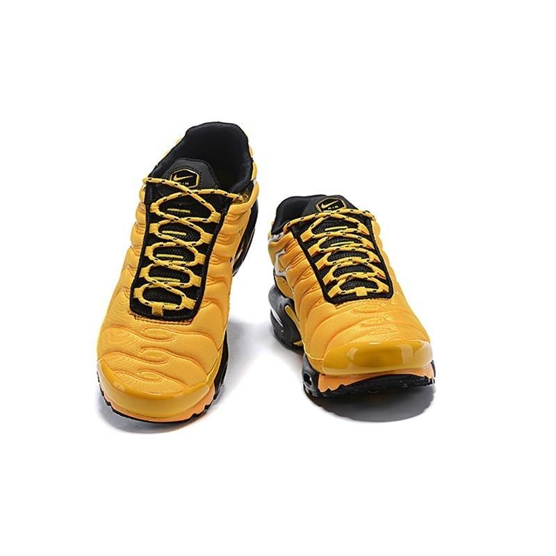 Nike Tn Air Max Plus Frequenza Pack Uomini di Colore Giallo Runningg Scarpe Comodi di Sport Scarpe da Ginnastica Leggere AV7940 700 Originale - 3