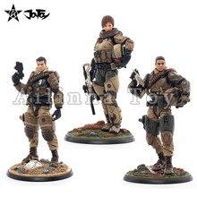 JOYTOY 1/18 3.75 polegadas Figura de Ação (3 PÇS/SET) 09th Legião-Mecha Cavalaria/MEDO Anime Modelo Toy Para O Presente Frete Grátis