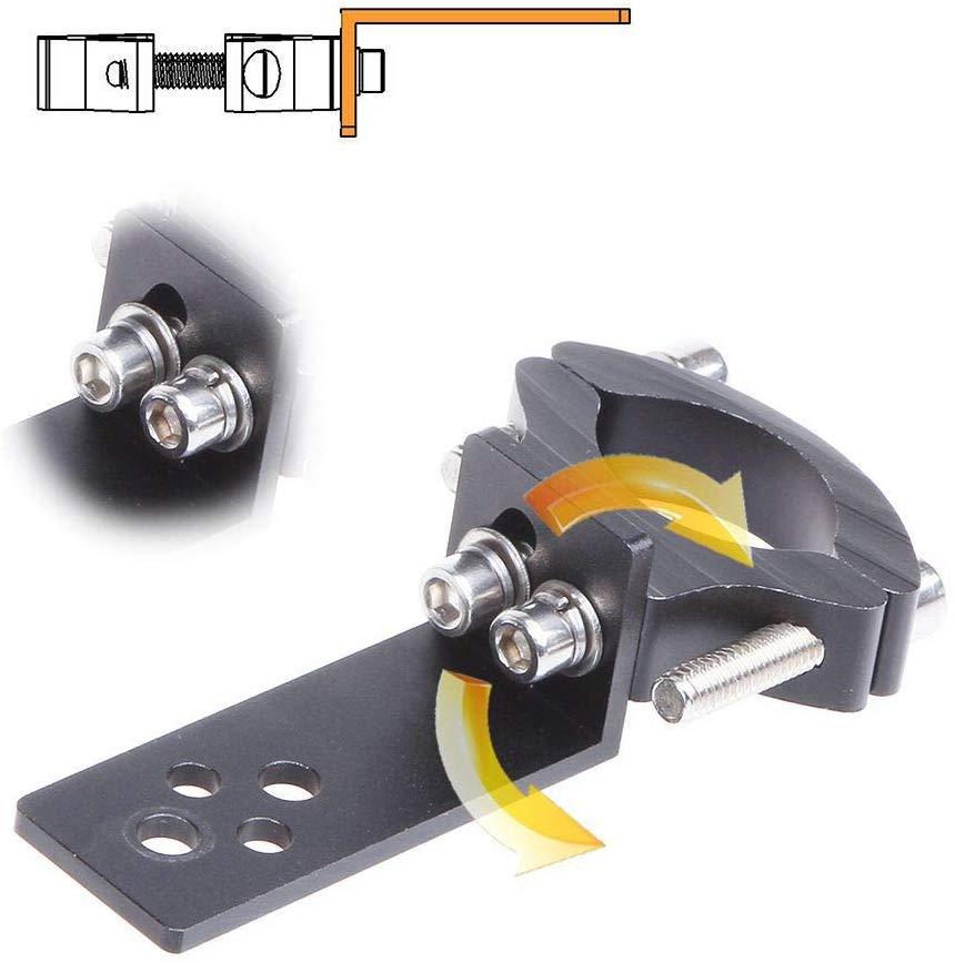 Universal Motorcycle Headlight Bracket Tube Fork Spotlight Holder Clamp Mount TG11  For Cafer Racer Chopper Ect