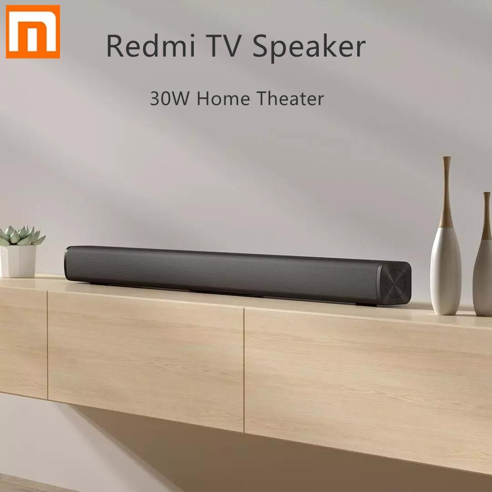 Xiaomi Redmi ТВ бар динамик проводной и беспроводной 30 Вт Bluetooth 5,0 Домашний объемный Саундбар стерео для ПК театра Aux 3,5 мм|Смарт-гаджеты|   | АлиЭкспресс