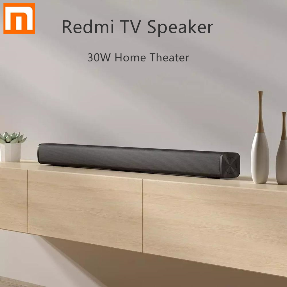 Xiaomi Redmi TV Bar Speaker Wired and Wireless 30W Bluetooth 5 0 Home Surround SoundBar Stereo for PC Theater Aux 3 5mm