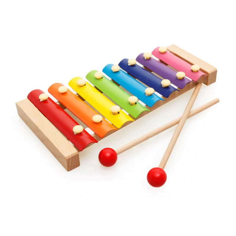 Baby Kid Musical Toys Xylophone Wooden Instrument Gift Child Wisdom Developmenting Educational Toy