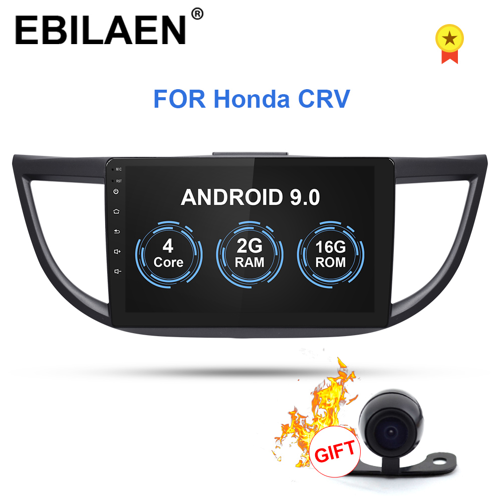 Android 9.0 Car Radio <font><b>Multimedia</b></font> DVD Player For <font><b>Honda</b></font> CR-V <font><b>CRV</b></font> <font><b>2012</b></font>-2016 2Din Car Autoradio GPS Navigation Tape Recorder Stereo image
