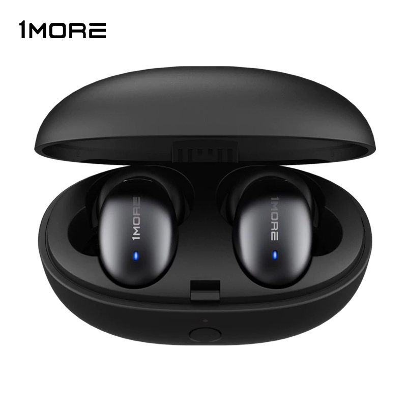 1MORE TWS Bluetooth 5.0 Earphone E1026BT Wireless Dynamic Driver AptX AAC Headset Auto Pairing 24 Hours Music Compantion