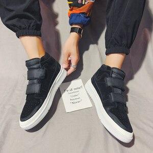 Image 3 - ฤดูใบไม้ร่วงผู้ชายรองเท้าสบายๆ Zapatos De Hombre แฟชั่น Tenis Masculino เดินรองเท้า High Tops รองเท้าผ้าใบรองเท้ารองเท้า Krasovki