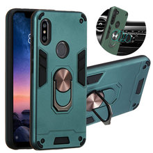 Para xiaomi redmi nota 9 s 9 s pro max 8t 7 6 5 pro 7s 4 4x caso magnético anel do carro telefone capa redmi 6 6a 7 7a 9 9a 10x casos