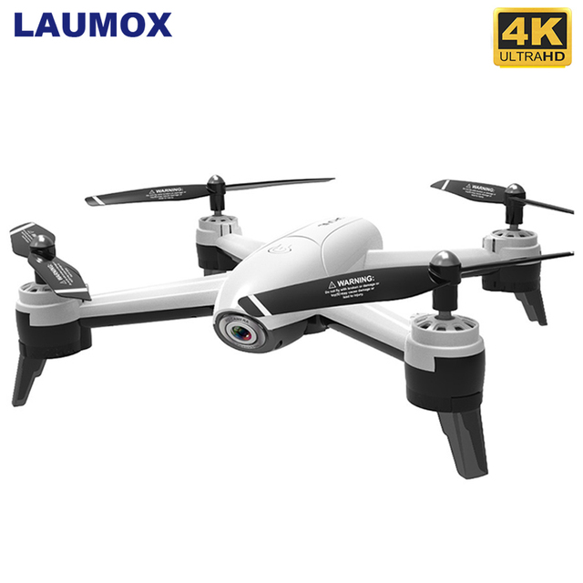 LAUMOX SG106 WiFi FPV RC Drone 4K Camera Optical Flow 1080P HD Dual Camera Real Time Aerial Video Wide Angle Quadcopter Aircraft