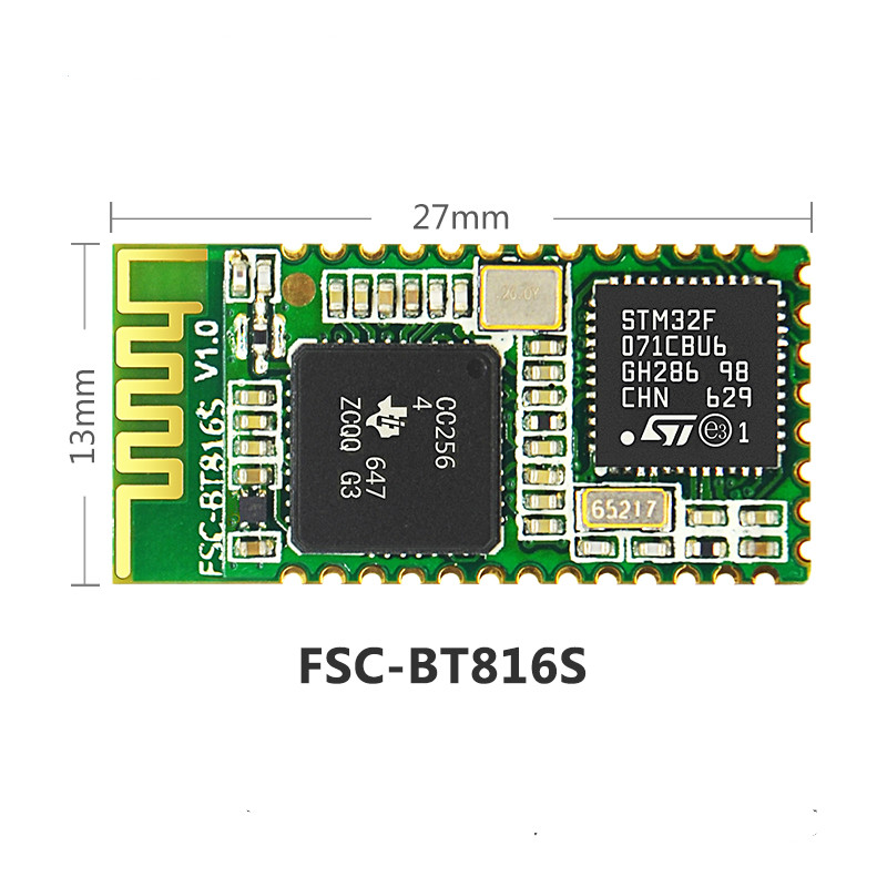 CC2564 Bluetooth One-to-Many BLE Printer SPP Bluetooth Networking 4.2 Dual-Module Industrial Data Transmission Module