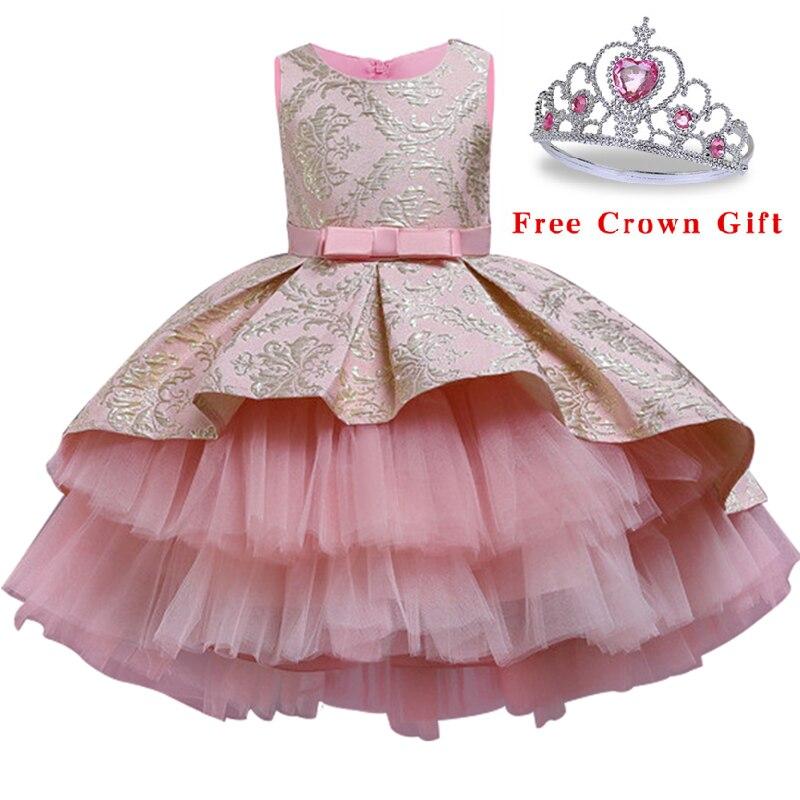 Испанское винтажное платье с цветочной вышивкой для маленьких девочек; Одежда для церемонии открытия; Вечерние платья-пачки; Платье принце...