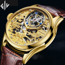 Original Tourbillon GIV Mechanical Watch men top brand luxur