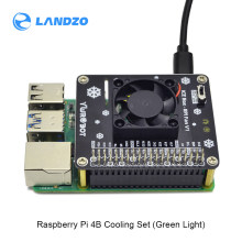 Raspberry Pi GPIO Cooling Fan Expansion Board with LED Compatible for Raspberry Pi 4B/3B+/3B