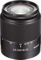 Câmera sony dt 18-70mm f/3.5-5.6, usado, lentes de zoom padrão asferográfico ed para câmera digital sony alpha