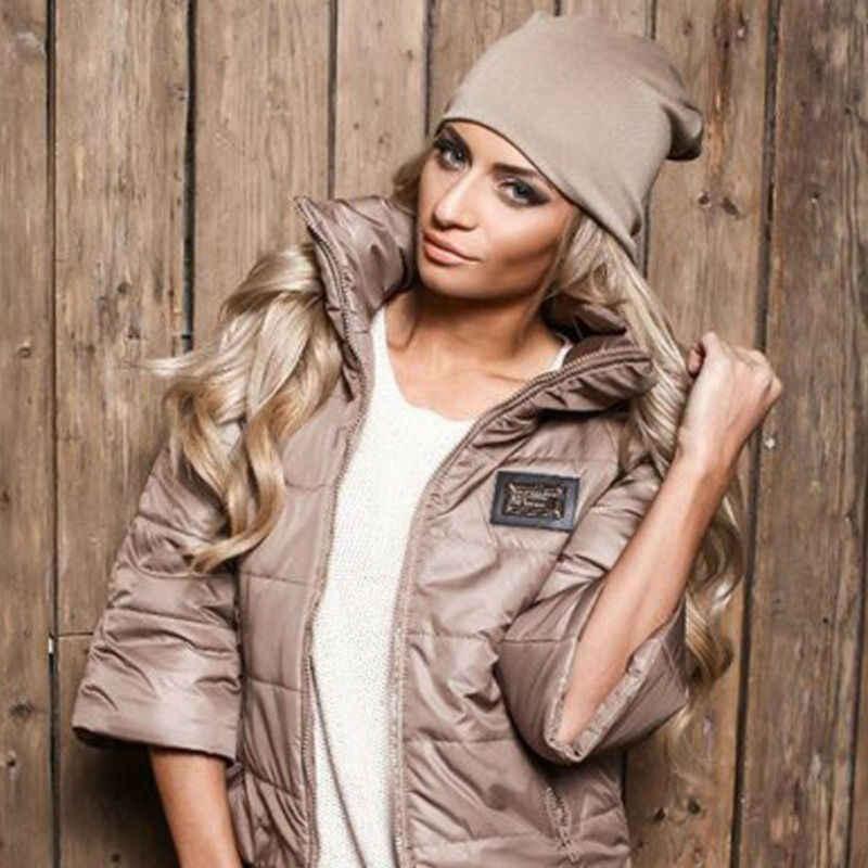 Fashion Unisex Womens Mens Knit Winter Warm Ski Crochet Slouch Hat Cap Beanie Oversize Casual Hats