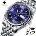 Оригинальные наручные часы wwoor роскошные мужские наручные часы водонепроницаемые часы из нержавеющей стали Кварцевые часы для мужчин Relogio ...
