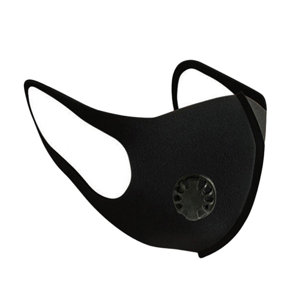 Anti-dust PM2.5 Sponge Face Mask Water Washable Reusable Dust Mask Anti-haze Respirator With Valve