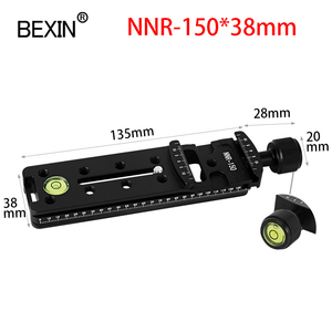 Image 4 - Slide Rail RRS long Quick Release plate Clamp Long focus Zoom Lens Support Holder Bracket for Arca swiss Tripod camera ball head
