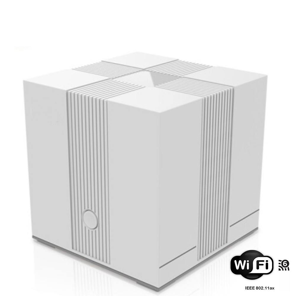 802.11ax Mesh Network Router Wifi6 5G  Dual-Band 1500Mbps Wireless Router 256MB RAM And 128MB ROM Gigabit Rate Signal Amplifier