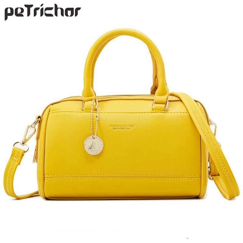 Женская сумка через плечо Boston, элегантная Дизайнерская кожаная сумка через плечо, 2019|Сумки с ручками|   | АлиЭкспресс - Аналоги сумок с показов мод осень-зима 2020/21