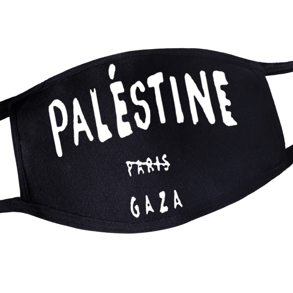 Palestine Gaza Kpop Masks Festive Party Respirator Warm Kpop Face Mask Camouflage Anti Dust Mouth Muffle Respirato Masks