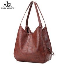 MARK MADDOX Vintage Women Hand Bag Designers Luxury Handbags Women Shoulder Bags Female Top-handle Bags Fashion Brand Handbags