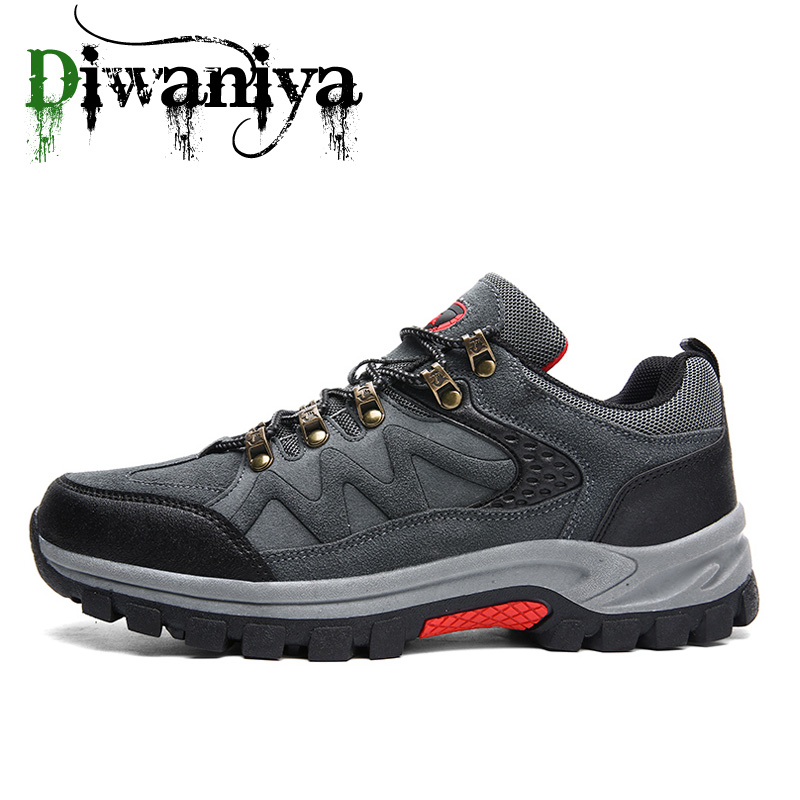 39-47 Outdoor Hiking Sport Shoes Men Sneakers Camping Climbing Trekking Shoes Tactical Boots Waterproof Shoes Botas Tacticas