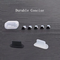 ロットアンチダスト防塵カバーキャップジャック充電器プラグusbタイプcポート携帯電話高速配信
