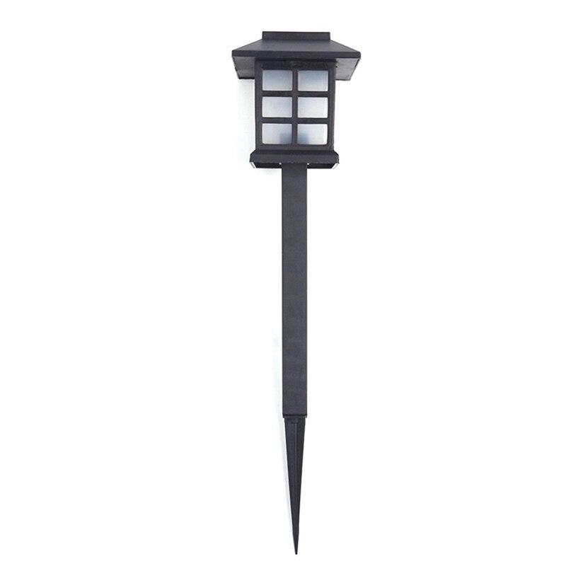 4 Pcs /Lot Palace Lantern Solar Power Garden Light Led Solar Landscape Lamp Outdoor Street Light Garden Pathway Sensor Night Lam