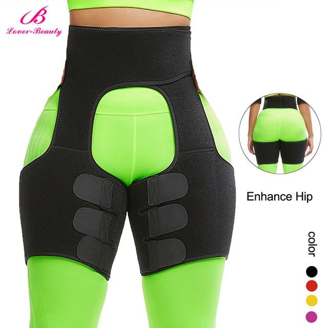 Women Neoprene Slimming Belt Body Leg Shaper Weight Loss Fat Burning Waist Trainer Sweat Waist Belt  Workout Thigh Shaper